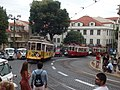 Lisboa, Largo da Sé, bondes (01).jpg