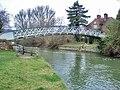 Little Wittenham Bridge below Day's Lock near Dorchester-on-Thames- geograph.org.uk - 640153.jpg