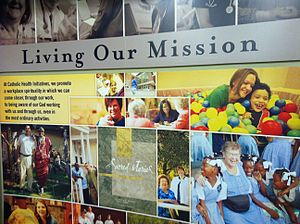 Catholic Health Initiatives - This collection of images and text describes how we live our mission every day at Catholic Health Initiatives.