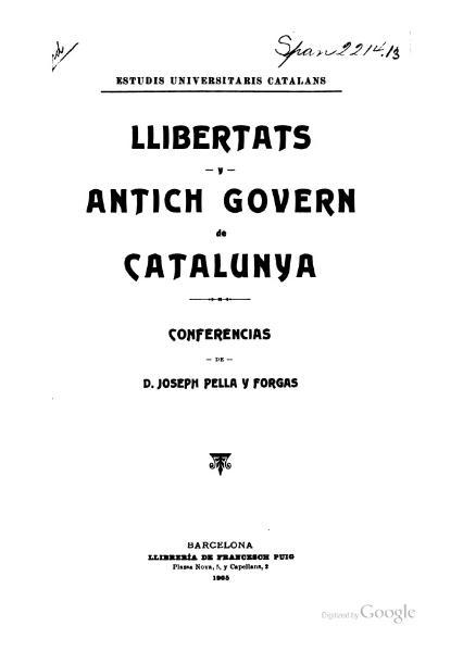 File:Llibertats y antich govern de Catalunya (1905).djvu