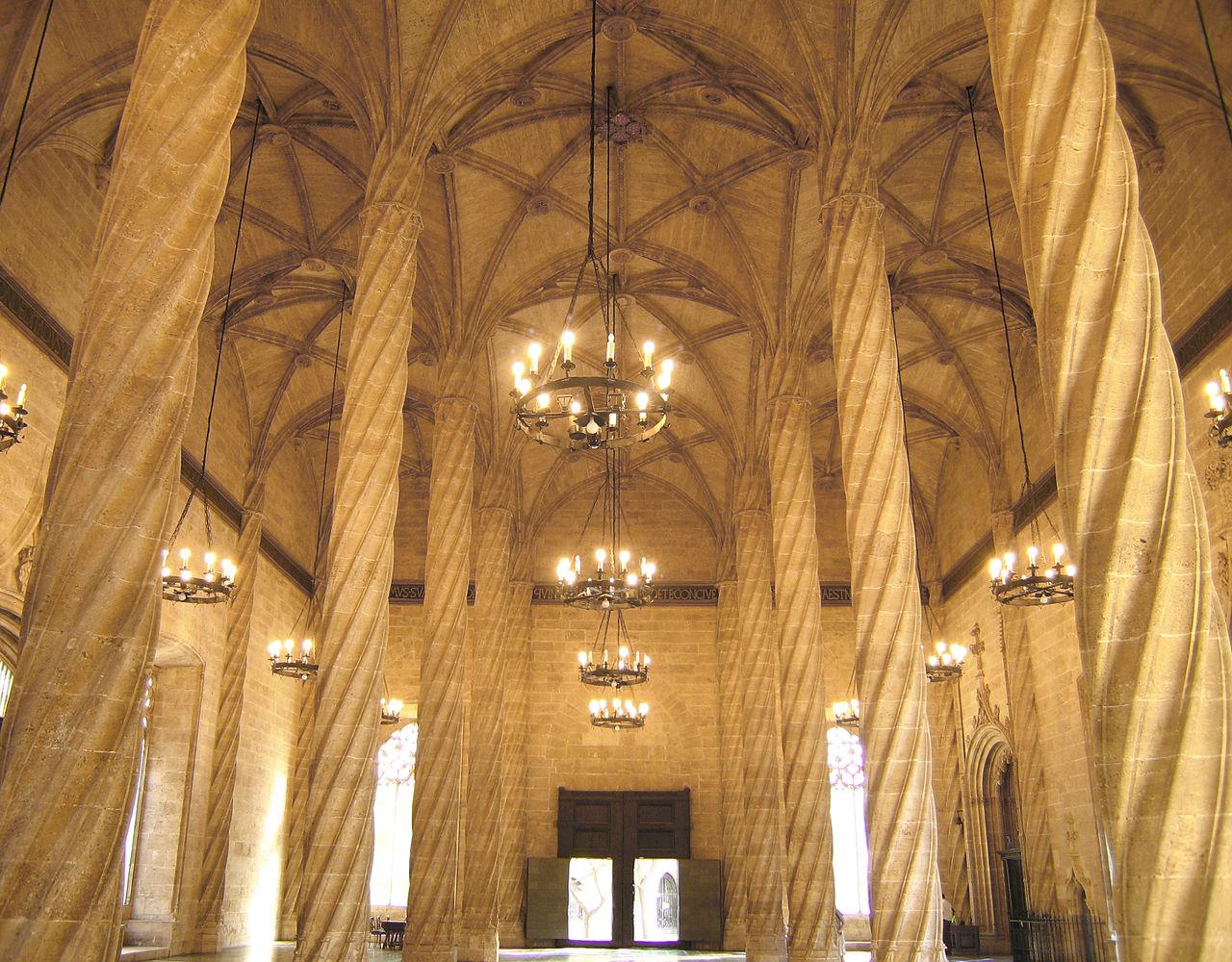 Sala de Contractació de la Llotja de València, Usuari: Felivet, Domini públic