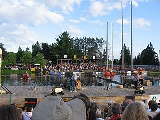 Lumberjack World Championship - Competition venue