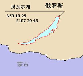貝加爾湖的位置