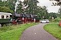 Loc 50 3654-6 van de VSM bij de spoorwegovergang Badhuislaan (38706497462).jpg