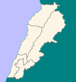 Location map Lebanon.PNG