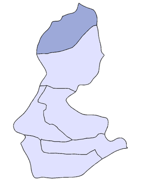 Sason - The District of Sason highlighted within the Batman Province.