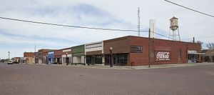 Lockney, Texas - View of downtown