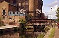 Locomotive Bridge, Huddersfield Broad Canal - geograph.org.uk - 782303.jpg