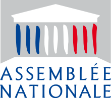 Description de l'image  Logo de l'Assemblée nationale française.svg.
