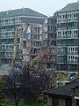 London-Woolwich, demolition Connaught Estate 03.jpg