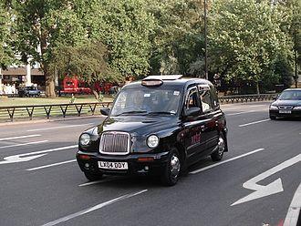 Hackney carriage - LTI TX1 cab