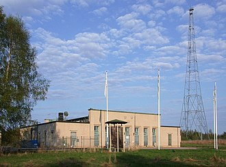 Radio broadcasting - Long wave radio broadcasting station, Motala, Sweden