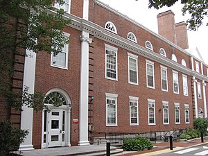 Alice Mary Longfellow - Longfellow Hall, now part of Harvard Graduate School of Education