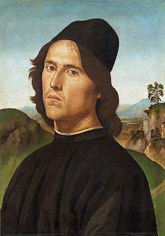 Portrait of Lorenzo di Credi - Image: Lorenzo di Credi by Perugino