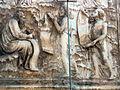 Lorenzo maitani e aiuti, scene bibliche 3 (1320-30) 05 profeti 01.jpg