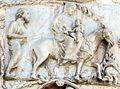 Lorenzo maitani e aiuti, scene bibliche 3 (1320-30) 09 fuga in egitto.jpg