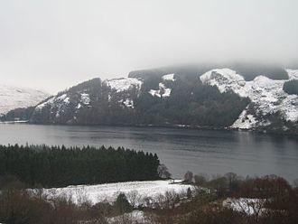 Lough Dan - Image: Lough Dan snow (389434714)