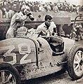 Louis Chiron vainqueur du Grand Prix de l'ACF 1931, avec Achille Varzi sur Bugatti T51.jpg