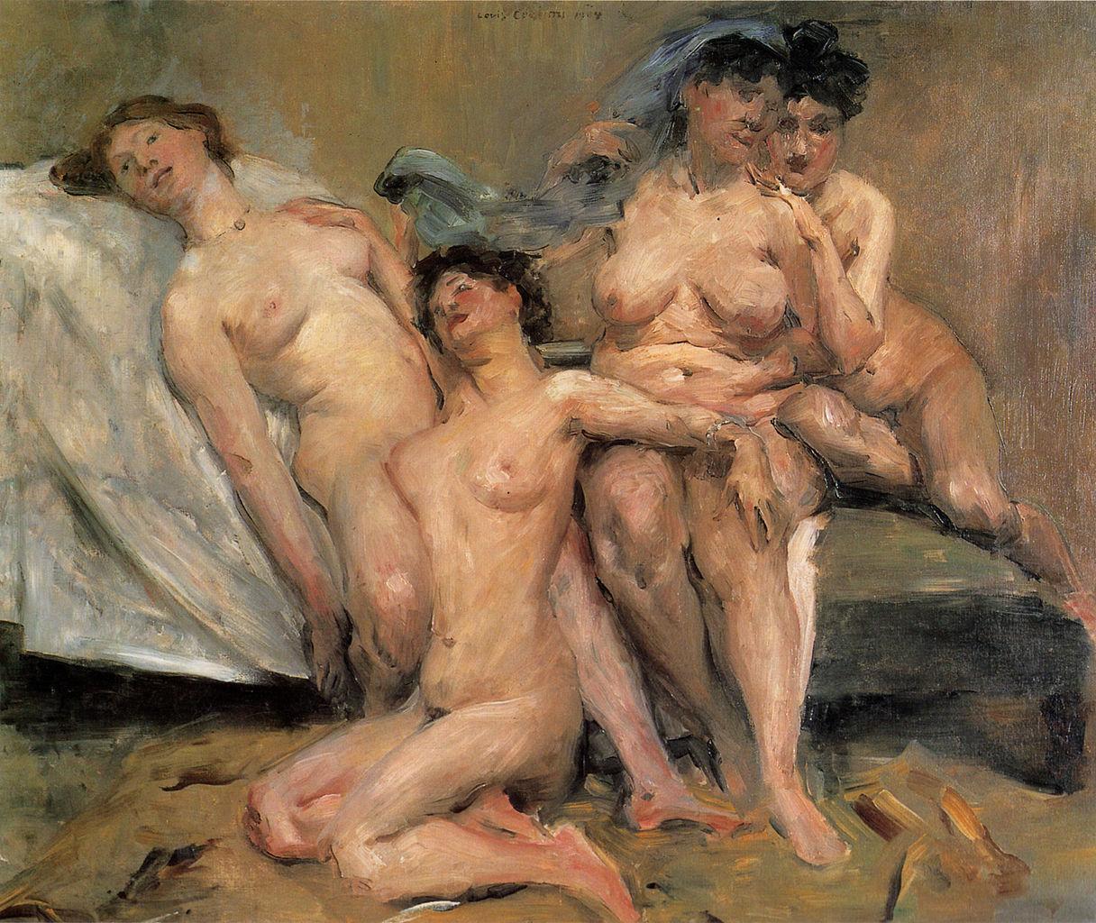 File:Lovis Corinth Frauengruppe 1904.jpg - Wikimedia Commons