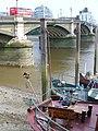 Low Tide at Battersea Bridge - geograph.org.uk - 493792.jpg