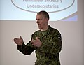 Lt. Col. Veiko Vello Palm giving a briefing, Tapa, Estonia, 2016,.jpg