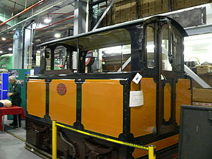London Transport Museum - City & South London Railway locomotive number 13