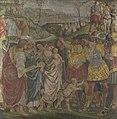 Luca signorelli o pinturicchio, Riconciliazione di Coriolano, National Gallery (Londra).jpg