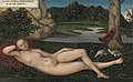 Lucas Cranach d. Ä. - Quellnymphe (Museo Thyssen-Bornemisza).jpg