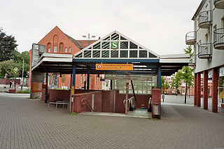 Dortmund-Lütgendortmund station Railway station in Dortmund, Germany