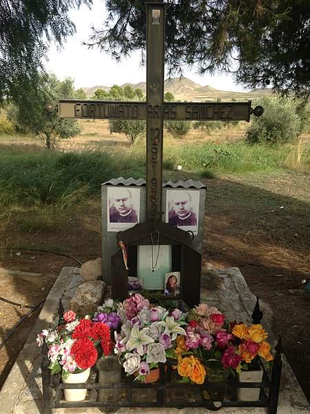 File:Lugar del fusilamiento de Fortunato Arias .jpg