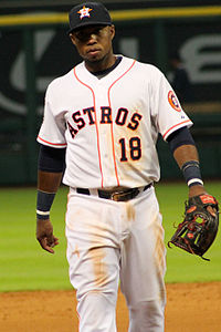 Luis Valbuena Astros Minute Maid April 2015.jpg
