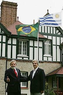 Uruguay-Politica estera-Lulatabaré26022007
