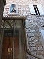 Lussas - Route de Mirabel, statue de la Vierge.jpg