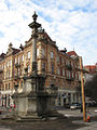 Lviv - Bernardyny - The column.jpg