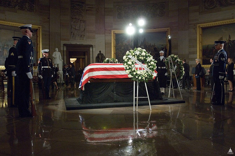 Lying in State - President Gerald Ford (8288035735)