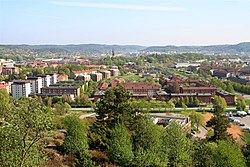 Skyline of Mölndal