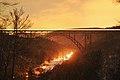 Müngstener Brücke Abenddämmerung.JPG