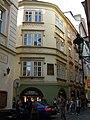 Měšťanský dům U Adama a Evy, U dvou pštrosů (Staré Město), Praha 1, Karlova 23, Staré Město.JPG