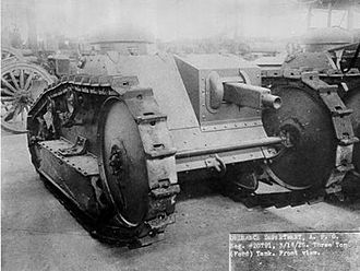 Tanks of the United States - US Ford 3-Ton Tank