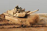 M1 Abrams training in Iraq