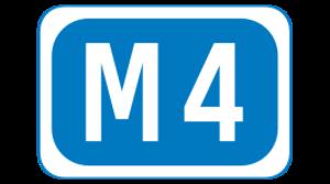 M6 motorway (Ireland) - Image: M4 reduced motorway IE