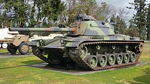 M60 Patton Tank Fort Lewis Military Museum.jpg