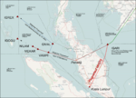 MH370 waypoints of civil aviation.png