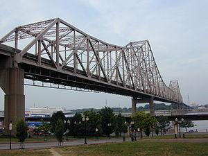Martin Luther King Bridge (St. Louis) - Image: MLK Memorial Bridge