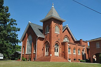 National Register of Historic Places listings in Montgomery County, North Carolina - Image: MOUNT GILEAD DOWNTOWN HISTORIC DISTRICT, MONTGOMERY COUNTY, NC