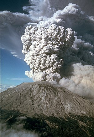 Explosive eruption - Mount Saint Helens explosive eruption on July 22, 1980