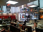 MSNBC's current NYC HQ studio