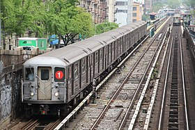 Image illustrative de l'article Ligne 1 du métro de New York