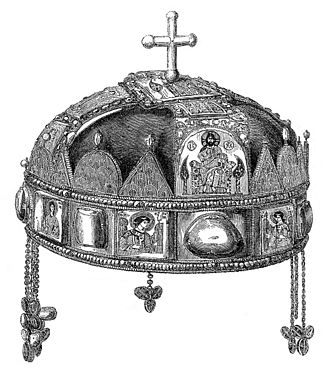 Holy Crown of Hungary - Holy Crown of Hungary, 1857