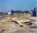 Maastricht, Céramique-terrein na sloop, fundering waltoren Hoge Maaspunt.jpg